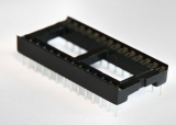 Панельки DIP шаг 2.54 мм широкие