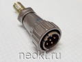 FQ24- 6TJ (кабельная вилка)