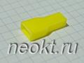 Пластиковая изоляция на клемму 6,3F жёлтая