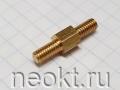 PCHNN4-06 mm М4, латунь, шестигр.стойка