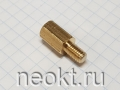 PCHSN5-12 mm М5, латунь, шестигр.стойка