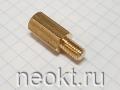 PCHSN5-15 mm М5, латунь, шестигр.стойка