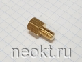 PCHSN5-08 mm М5, латунь, шестигр.стойка
