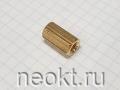 PCHSS5-15 mm М5, латунь, шестигр.стойка