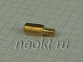 PCHSN4-10 mm М4, латунь, шестигр.стойка