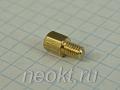 PCHSN4-06 mm М4, латунь, шестигр.стойка